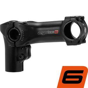 ergotec Stem Swell-R 70 Ahead 70, 28.6/31.8 70/100 mm AL6061 T6 adjustable black sandbl.