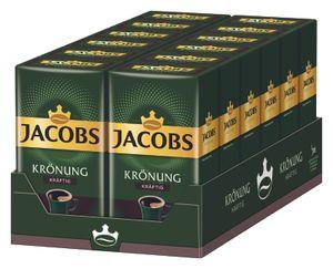 JACOBS Krönung Kräftig Filterkaffee 12 x 500 g Kaffee gemahlen