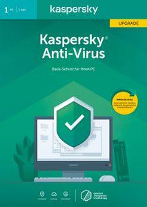 Kaspersky Anti-Virus Upgrade (1 Gerät I 1 Jahr) (Code in a Box) - CD-ROM-Eurobox