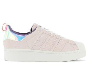 adidas Superstar Bold Plateu W - Girls Are Awesome - Damen Schuhe Rosa FW8084 , Größe: EU 38 UK 5