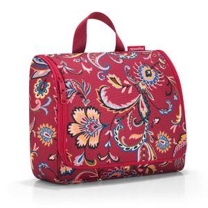 reisenthel toiletbag XL Kosmetiktasche Waschtasche paisley ruby WO3067