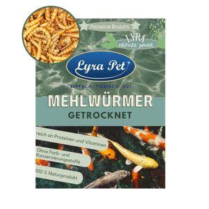 5 x 1 Liter Lyra Pet® Mehlwürmer für Zier- und Teichfische