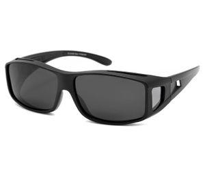 Sonnenbrille Überbrille Leichte Brille mit UV 400, Modell wählen:schwarz