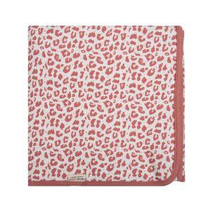 Little Indians decke Crib Leopard 70 x 100 cm Baumwolle rosa