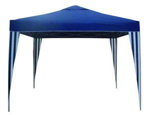 Pavillon Festzelt Gartenzelt Partyzelt Gartenmöbel Zelt Garten 300x300cm blau