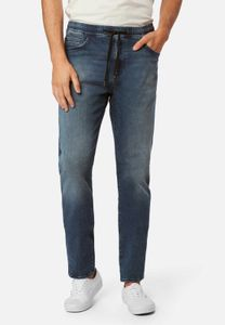 Mavi Herren NICO Loose Fit Jeans Hose dark ripped sporty W29/L32
