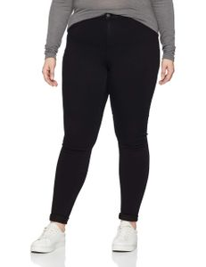Only Carmakoma Jeans Damen CARSTORM PUSH UP HW SK JE Größe 52, Farbe: 177911 Black