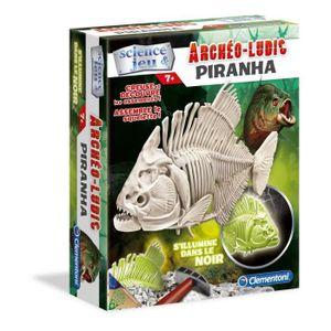 Clementoni Phosphoreszierender Piranha Science & Game