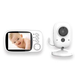 Annew Babyphone mit Kamera- Annew Video Baby Monitor Gegensprechfunktion Digital kabellose Überwachungskamera ( Schlafmodus, Nachtsicht, Temperatursensor, Schlaflieder) vb605