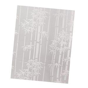 Kleber 45X100cm Frosted Window Film Glasaufkleber für UV Rejection Heat Control Farbe Stil 3