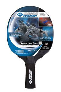 Donic-Schildkröt Tischtennisschläger Sensation Line 700, ASG-Griff, 1,8 mm Schwamm, Avantgarde - ITTF Belag