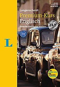 Langenscheidt Premium-Kurs Englisch - Sprachkurs mit 2 Büchern, 6 Audio-CDs, MP3-Download, Online-Tests und Zertifikat