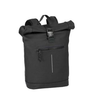 New Rebels Mart Roll-Top Backpack Black Large II | Rucksack