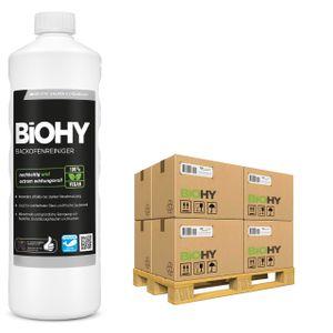 BiOHY Backofenreiniger Hochkonzentrat (480x1l Flasche) | Profi Grillreiniger, Fettlöser EXTRA STARK | Zur einfachen und schnellen Ofenreinigung | Löst hartnäckigste Verkrustungen