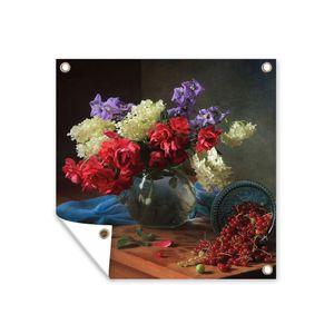 Gartenposter - Farben - Früchte - Stillleben - 100x100 cm