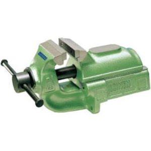 Parallel-Schraubstock 150 mm Farbe grün