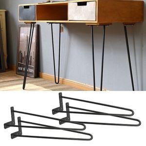 WYCTIN 4*Hairpin Legs 41cm Haarnadelbeine Tischbeine Tischkufen  Möbelfuß DIY Tisch