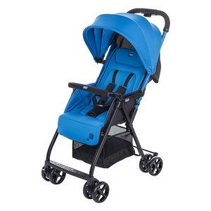 Chicco OHlalà, Leichtgewichtiger Kinderwagen, 36 Monat( e), 1 Sitz(e), Schwarz, Blau, Flach, Feste Räder