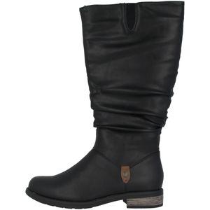 rieker Damen Winterstiefel Schuhe Schwarz Boots, Größe:38