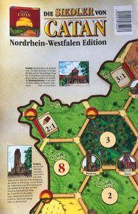 Catan - Die Siedler von Catan - Nordrhein Westfalen Edition Spielplan
