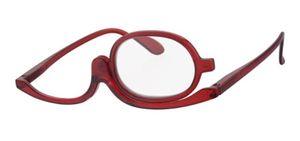 Praktische Schminkbrille rot +1,5 Lesebrille Make-up Brille Federbügel