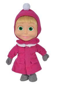 """Simba Masha Weichpuppe """"Winter"""", 23cm"""