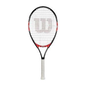 Wilson Roger Federer 26`` (besaitet) 205g Tennisschläger Schwarz - Kinder, Größe:0 (Griffstärke)