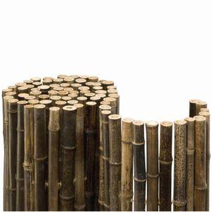 Noor Bambusmatte Black Edition, ca. Größe (HxB) 1,50x2,50 m; 154BLACK15X2