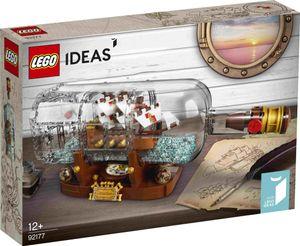 LEGO Ideas Schiff in der Flasche - 92177, Bausatz, Junge/Mädchen, 12 Jahr(e), 953 Stück(e), 857 g