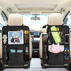 2x Auto-Rücksitz-Organizer-Kinder | Schmutzabweisender Rückenlehnen-schutz