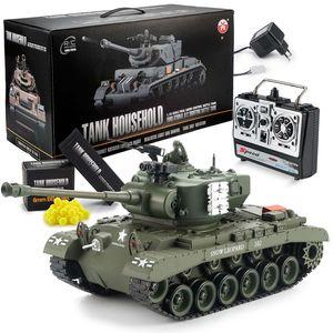 Ferngesteuerter RC Snow Leopard M26 Pershing Panzer - Modellbau R/C Panzer 1:16 Maßstab