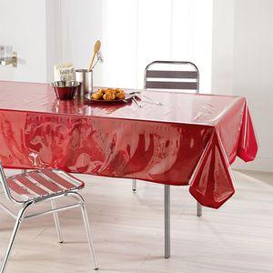 Tischdeckenschoner, glasklar, rechteckig  140x240
