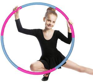 Hula Hoop für Kinder, Einstellbares Gewicht Hula Hoop und größe Adjustable abnehmbare Sport Spielzeug, geeignet für Fitness, Gymnastik, Tanz