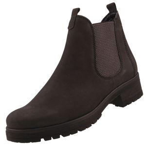 GABOR Comfort Damen Chelsea Boots Grau, Schuhgröße:EUR 37.5