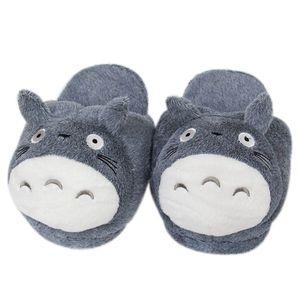 Hausschuhe Chinchilla Totoro Plüsch Hausschuhe Plüsch Hayao Miyazaki BaumwolleSchuhe