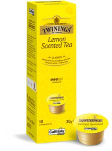 CAFFITALY Twinnings Lemon Scented Tea 6er (Cafissimo kompatibel)