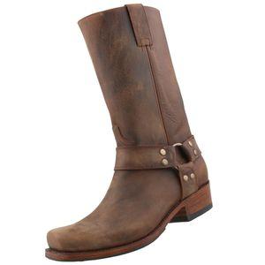 Sendra Biker Boots 8833 braun/antik, Schuhgröße:EUR 41