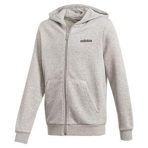 Adidas Essentials Linear Medium Grey Heather / Black 128 cm