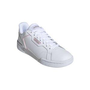 Adidas Damen Sneaker Sneaker Low Leder weiss 38