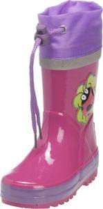 Playshoes Gummistiefel Glückskäfer pink Mädchen 188583-18, Größe:20/21, Farbe Playshoes:pink