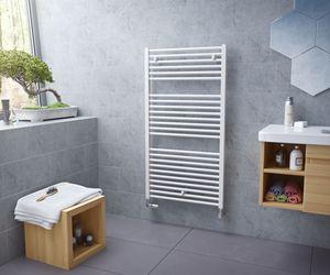 Badheizkörper gerade Handtuchheizkörper XIMAX Centrino Weiss Höhe 1120 mm, Breite 600 mm, 620 Watt