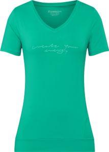 ENERGETICS Da.-T-Shirt Gapela 4 GREEN AQUA 42