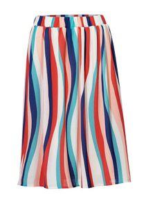 Rick Cardona Damen Designer-Streifenrock, bunt, Größe:42