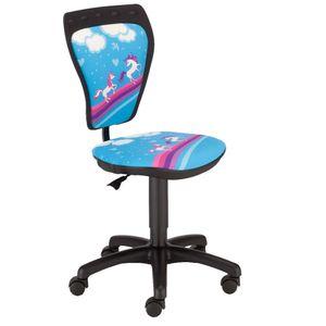 Schreibtischstuhl Kinderzimmer Kinder Mädchen Pferde Drehstuhl Ministyle TS22 RTS PONY