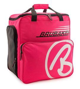 BRUBAKER Skischuhtasche Helmtasche Skischuhrucksack Super Champion Pink Weiss