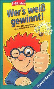 Wer's weiss gewinnt - Ravensburger Wissensspiel