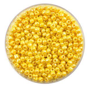 """Rocailles """"Perlmutt"""" Goldgelb"""