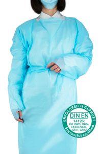 Janmed® CPE-Schutzkittel DIN EN 14126, Anzahl: 25 Stück
