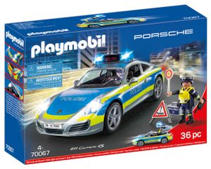 PLAYMOBIL Porsche 70067 Porsche 911 Carrera 4S Polizei