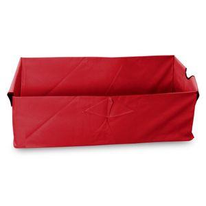 Faltbarer Bollerwagen Einlage rot